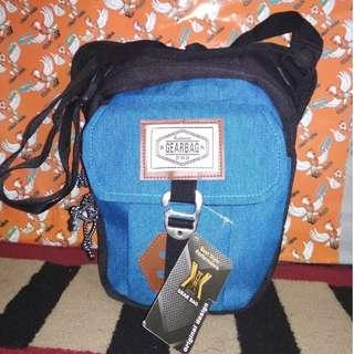 Tas Slempang Gear Bag Selempang Biru Travel Pouch