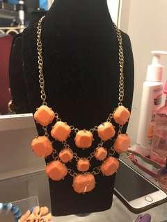 Orange Necklace (FREE POSTAGE)