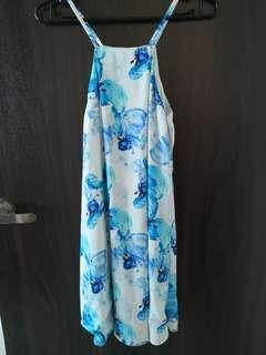 LB floral printed dress