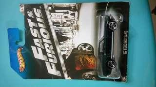 Fast and furious 67 ford mustang