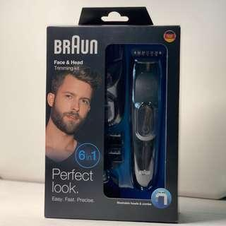 Authentic Braun Face & Head Trimming Kit