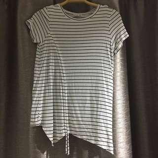 Cotton On White Striped Shirt
