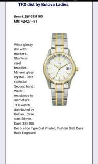 TFX Distributed by Bulova Corp.