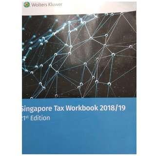 Singapore Tax Workbook 2018/19 21st Edition