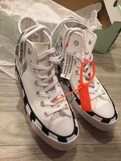 Off White x Converse Chuck 70 (UK 4)