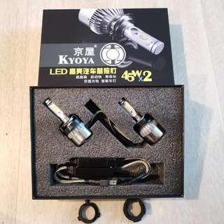 H7 6500k Led head light