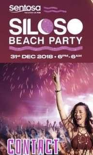 Siloso Beach Party Countdown Ticket