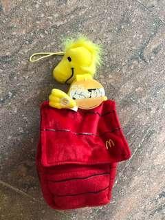 Snoopy x Mcdonald woodstock 55周年公仔