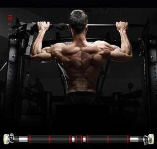 83-130 cm Pull up bar with side lock