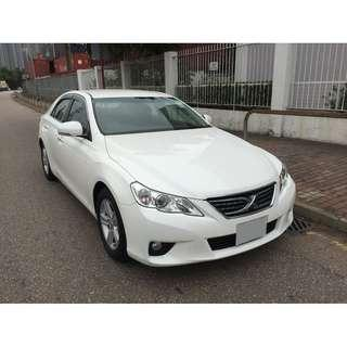 TOYOTA   MARKX S PACKAGE GRX130   2012