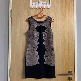 🚚 BN Black Classy Dress