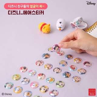 -CLOSED- Daiso x Disney Air Stickers