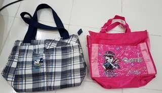 2x hand carry bags
