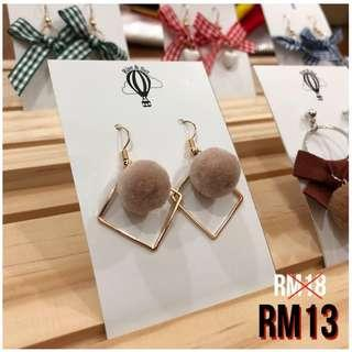 #DEC30 Korean Fashion Earrings