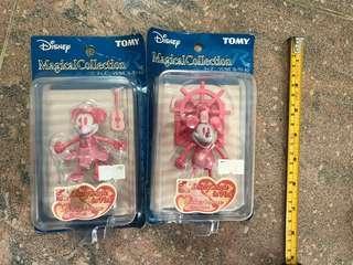 Disney Tomy 米奇米妮情人節限定figure
