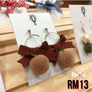 Korean Fashion Earrings #dec30