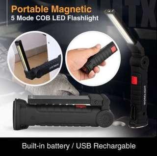 Rechargeable usb flashlight 🔦