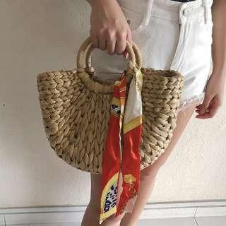 *NEW* Petite Rattan Bag (Free registered mail)