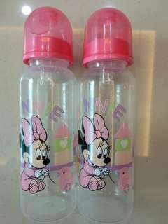 Baby Bottle Mini Mouse Twin Pack Edition - BPA Free