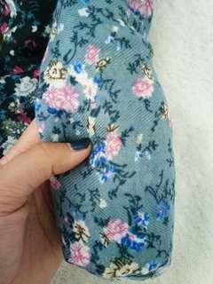 Cotton Pashmina (Blue)