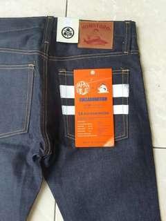Momotaro jeans selvedge