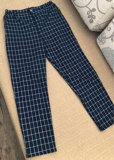 🚚 Checked Long Pants