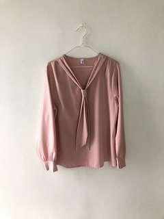 BN PINK OFFICE BLOUSE
