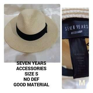 SEVEN YEARS  HATS