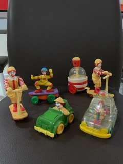 🚚 Vintage Ronald McDonald's Display Figurines