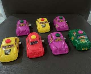 🚚 Vintage Wind-up Toy Cars from McDonald's