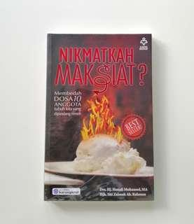 BOOK / BUKU: Nikmatkah Maksiat?