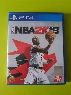 PS4 NBA2K18 R3 Eng/Chi