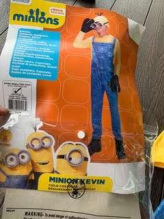 Original universal studios minions costume US 3-4 years old