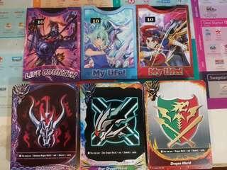 Buddyfight trial decks (sold)