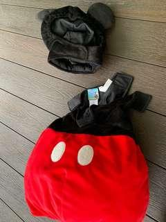 Original Disney store Mickey Mouse clubhouse costume