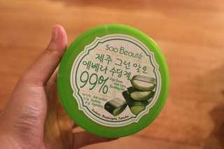 Soo Beaute 99% Jeju Green Aloe Vera Soothing Gel