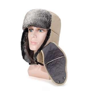 🚚 A warm hat韓版雷鋒帽附帶口罩男女老少皆適用,冬天保暖加絨加厚棉帽