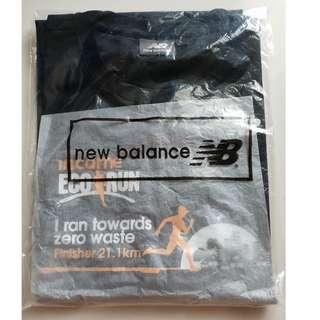 Income Eco Run 2017 Mens (Size L) New Balance Finisher T-shirt