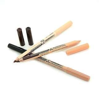 Menow eyebrow and concealer pencil
