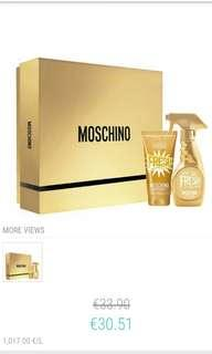 Moschino Fresh Couture Gold Gift Set