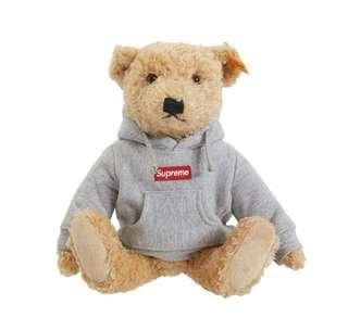 Supreme Steiff Bear Box logo