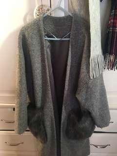 Gu grey coat