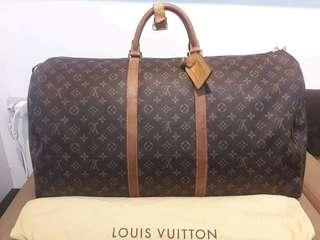 Lv travelling bag keepal 60