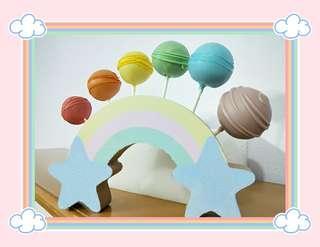 Rainbow Cake Pop 🌈