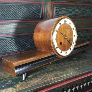 1960s Japan-Aichi 21 days Mechanical Pendulum Table Clock