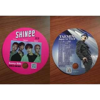 Shinee Taemin Fan Unofficial Double Sided