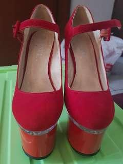 Red Heels Size 35