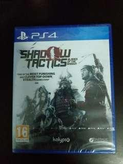 PS4 Shadow Tactics: Blades of the Shogun (New)