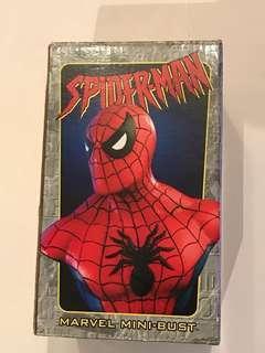 絕版罕有Bowen Design Marvel Spiderman Statue 蜘蛛俠 半身像 胸像 Avengers 復仇者聯盟not Hottoys Hot Toys Sideshow 3A Ironman movie comic 漫畫 電影