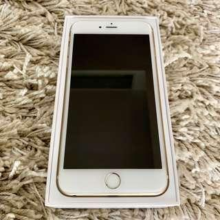 iPhone 6 Plus 64GB Gold in great condition as new